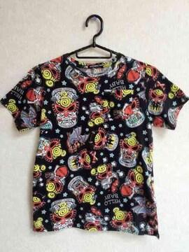 確実正規品!ヒステリックミニ☆総柄Tシャツ140