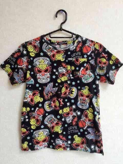 確実正規品!ヒステリックミニ☆総柄Tシャツ140  < ブランドの