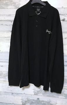 セールSeanjohnショーンジョンブラックロングポロシャツ