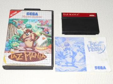 Master System★TAZMANIA 海外版 端子清掃済み
