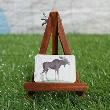 新品【マグネット】Moose/ムース -ヘラジカ-