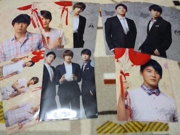 *JYJ☆公式ロッテ免税店クリアファイル(4枚セット×2種類)8枚
