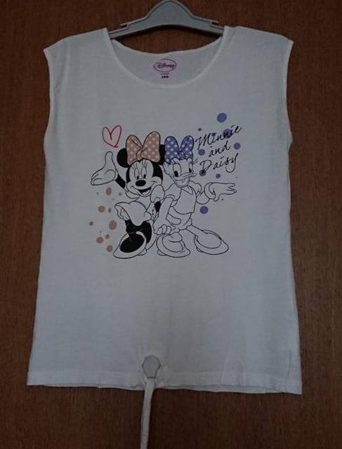 Disney★Minnie&daisy★ノースリーブ裾紐160 < キッズ/ベビーの