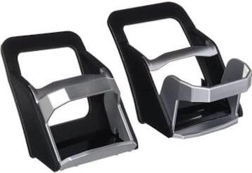 ブラック カーメイト 車用 ドリンクホルダー ペア プリウス(ZVW3