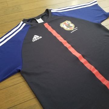 ★adidas製 サッカー日本代表レプリカユニフォーム/サイズS