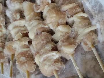 ☆炭火焼き鳥(モモ肉)** 30g×50本入  冷凍