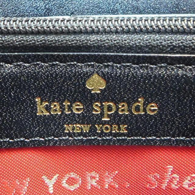 美品kate spadeケイトスペード ファスナー長財布 良品 正規品 < ブランドの