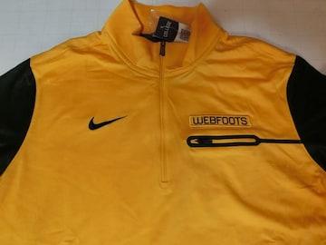 Nike Oregon Webfoots Elite Coaches Half-Zip Tops US M