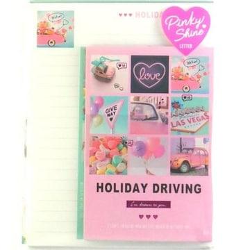 ★PinkyShine☆HOLIDAY DRIVING★レターセット★未開封