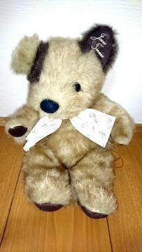犬 ぬいぐるみ 人形 昭和 レトロ ファンシー テディベア くま