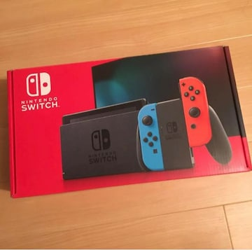 新品 送料込み Nintendo Switch ニンテンドースイッチ ネオン