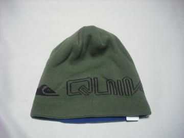 mb202 男 QUIKSILVER クイックシルバー リバーシブル ニット帽