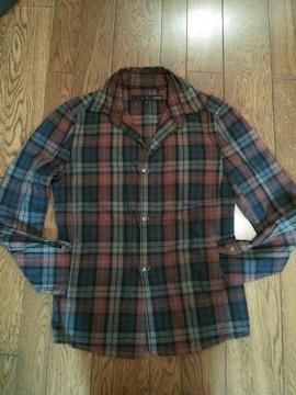 シュリセル シャツジャケット フックボタン