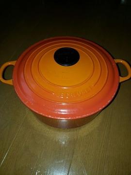 ☆USED☆ル・クルーゼ☆24�pココット鍋