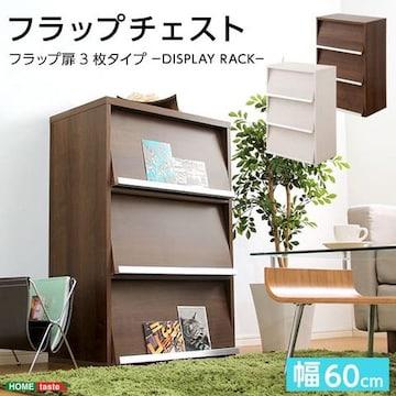 収納家具【DEALS-ディールズ-】 フラップ扉3枚タイプ DS60-F3