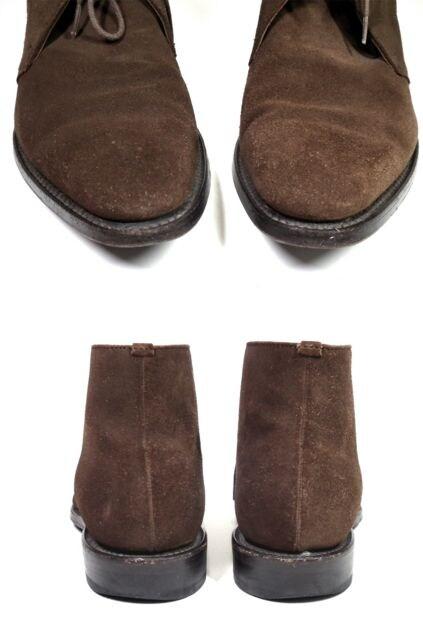正規リーガル靴ブーツレザースエード25.0cmチャッカブ < ブランドの