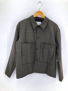 STILL BY HAND(スティルバイハンド)SHORT JACKET ウールシャツジャケットシャツジャケット