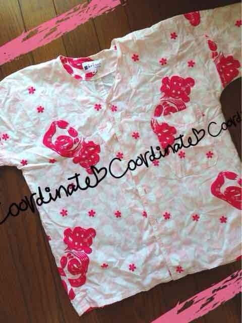 即決】魚河岸シャツ☆ピンク  < 女性ファッションの