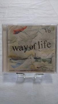 美品CD!! way of life/V6/帯等、付属品全てあり
