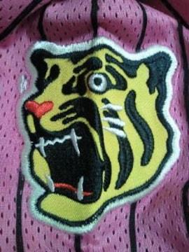 プロ野球 阪神タイガース ユニフォーム ピンク Sサイズ メッシュ