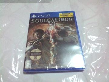 【新品PS4】SOULCALIBUR VI ソウルキャリバー6