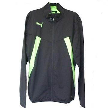 新品L★PUMA黒トレーニングジャケット定価8100円プーマ