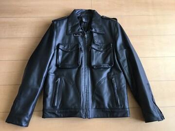 ショップオリジナル レザーライダースジャケット Mサイズ