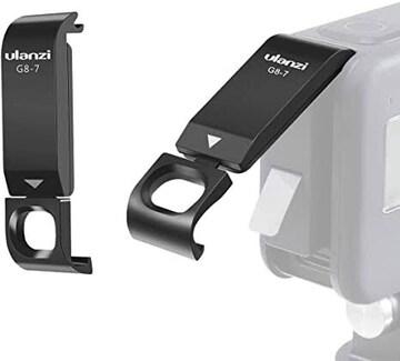 ULANZI バッテリーカバー GoPro Hero 8用 Type-c充電口 電池蓋代