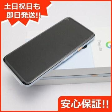 ◆安心保証◆新品未使用◆SIMフリー Google Pixel 4a  ブルー