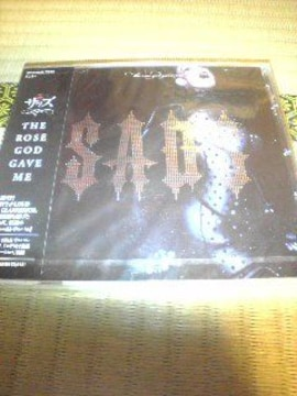 未開封CD,SADS(清春)THE ROSE GOD GAVE ME