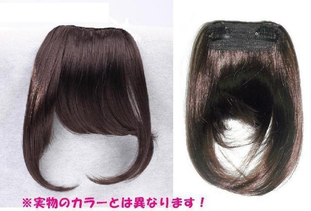 【即決】Wigs2you☆W-8104★前髪ウィッグ★ぱっつん★ブラウン < 女性ファッションの