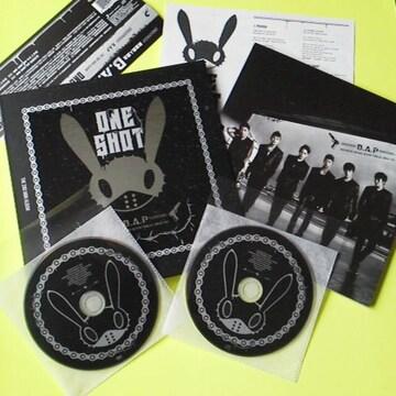B.A.P★One Shot(スペシャル盤) [CD+DVD]ヨングク/ヒムチャン/デヒョン/ヨンジェ
