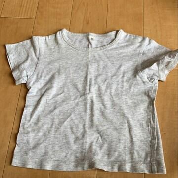 良品計画!80センチ/グレーTシャツ