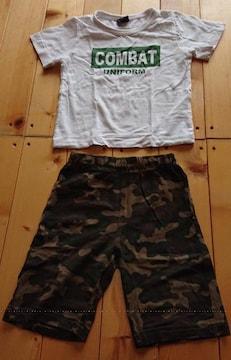 激カコ★ヤンチャboy★Tシャツ+ハーフパンツ★上下セットアップ90cm