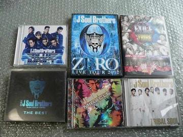 三代目 J Soul Brothers【TRIBAL/MIRACLE/BEST】4CD+7DVD初回3枚