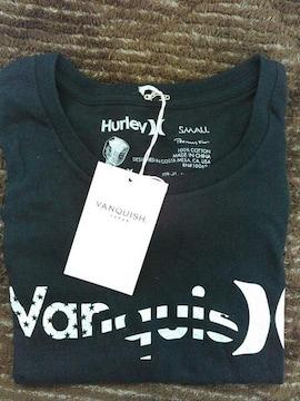 VANQUISH HurleyTシャツ サイズS ハーレー限定ヴァンキッシュサーフィンsurf