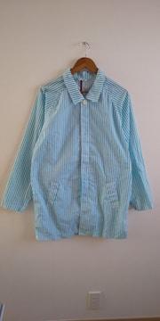 ストライプシャツジャケット L