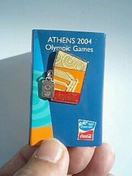2004のピンバッチ・アテネオリンピック