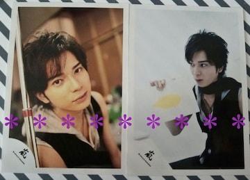 公式写真◆松本潤*2007 Time【2枚セット】オフショット★嵐ロゴ