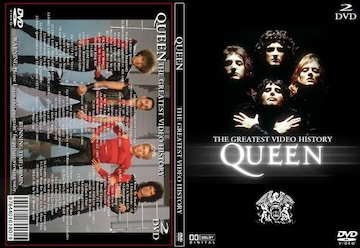 クイーン THE GREATEST VIDEO HISTORY 全78曲 プロモPV集 Queen