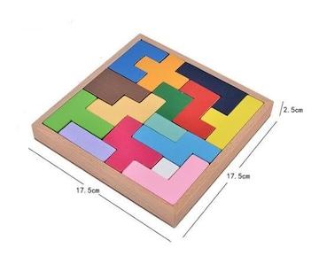 知育玩具 テトリスブロック 立体おもちゃ 子供おもちゃ