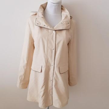 ◆未使用◆noa-ge◆クリームイエロー◆キルティング◆コート◆