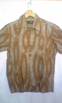 GAULTIER 46 椰柄半袖シャツ