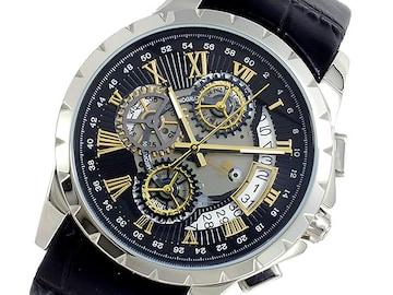 サルバトーレマーラ クオーツ  腕時計 SM13119S-SSBKGD