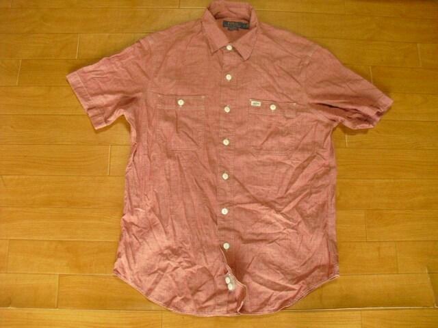 ラルフローレン シャンブレー シャツ USA-S 未使用品  < ブランドの