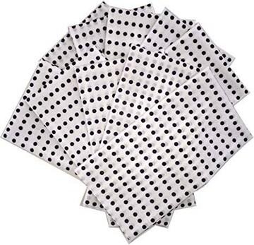 色紺 豆絞り手ぬぐい 10枚セット (紺)