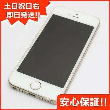 ●安心保証●美品●DoCoMo iPhone5s 16GB ゴールド●白ロム