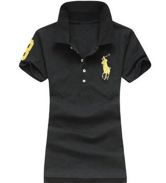 正規■POLO ポロ ラルフローレン レディース ポロシャツ S