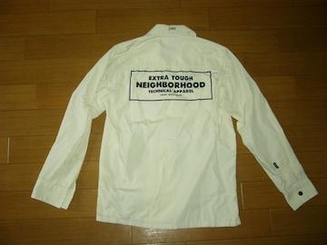NEIGHBORHOOD ネイバーフッド BOX LOGO ワークシャツ S ロゴ