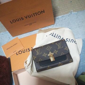 新品ルイヴィトンショップ購入財布正規品